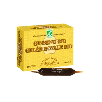 Ginseng gelee royale bio - cocktail tonus