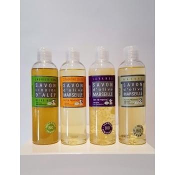 Coffret Tomelea - 4 gels douche bio - Plaisant savons & cosmétiques