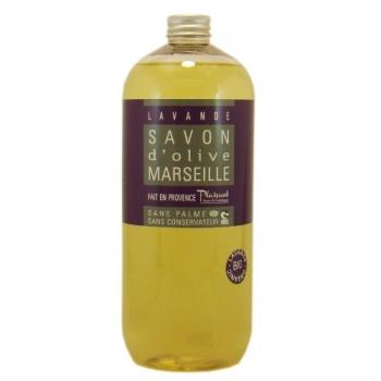 Gel douche bio aux huiles essentielles de lavandin - 1L - Plaisant savons & cosmétiques