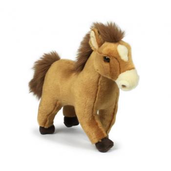 Peluche de cheval sauvage beige - WWF - 23 cm