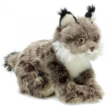 Peluche lynx brun - WWF - 23 cm