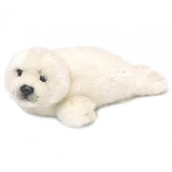 Peluche phoque beige - WWF - 38 cm