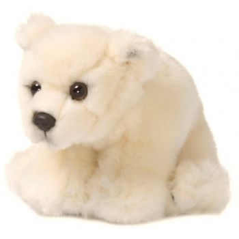 Peluche ours polaire - WWF - 15 cm