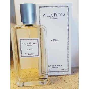 Eau de parfum femme Aïda - 100ml - Villa Flora parfums
