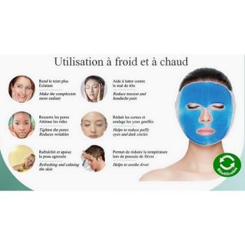 Masque de Relaxation à Chaud ou à Froid en Gel Thermo-Thérapeutique