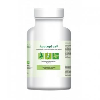 Acetoplex - Améliore la vitesse de votre cerveau - 90 gélules