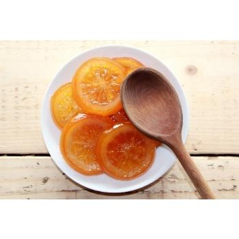 orange tranche confite bio