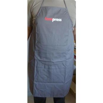 Tablier de cuisine gris Tom Press