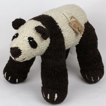 Yuan Zi le Panda - peluche en laine filée à la main équitable