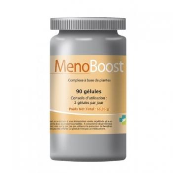 Menoboost - Traitement naturel contre les effets de la ménopause - 120 gélules