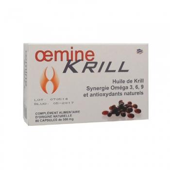 Oemine KRILL NKO - 80 capsules