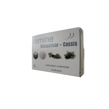 Oemine MANGANESE CASSIS - 60 gélules