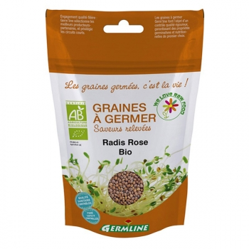 Germline Graines à germer Radis rose