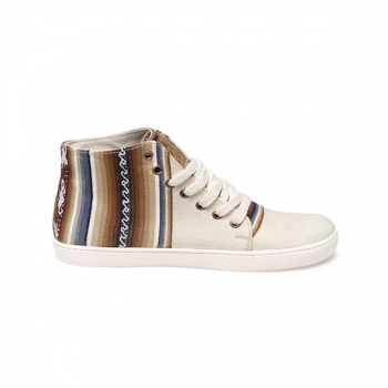 Sneakers unisex Ampato Alto Blanco