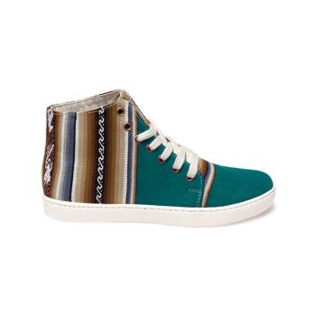 Sneakers unisex Ampato Alto Esmeralda