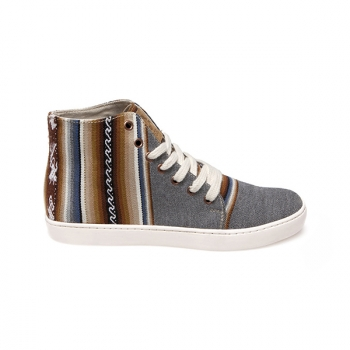 Sneakers unisex Ampato Alto Gris