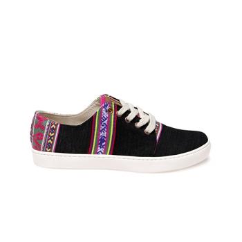 Sneakers unisex Misti Bajo Negro