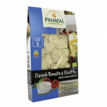 PRIMÉAL - Ravioli Tomate & Ricotta bio