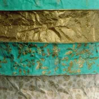 Lampion Papier Turquoise