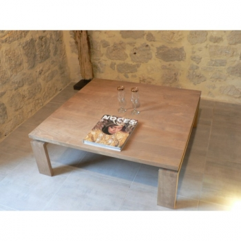 Table Basse Carrée Pure