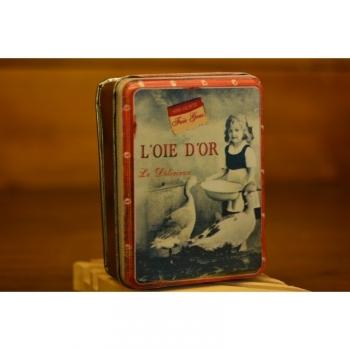 Boîte Voyage Rétro Loie Dor