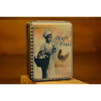 Boîte À Savon Voyageur Oeufs Frais