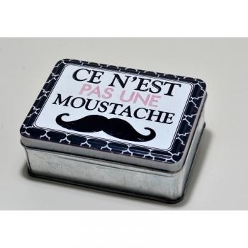 Boîte À Savon À Barbe Moustache 220g