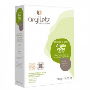 ARGILETZ - Argile verte surfine en 300 gr et 1 kg