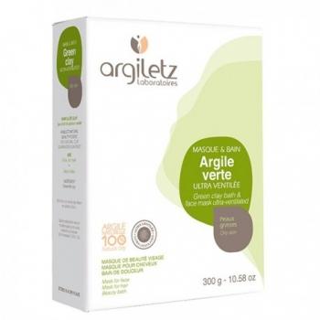 ARGILETZ - Argile verte ultra-ventilée Boîte de 300 gr