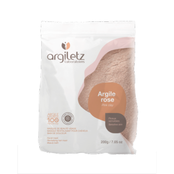 ARGILETZ - Argile Rose Ultra-ventilée en boite de 200 gr