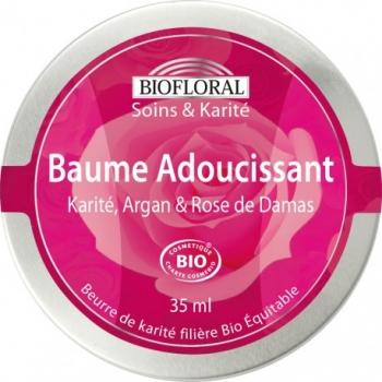 BIOFLORAL - Baume Adoucissant Karité Argan et Rose de Damas