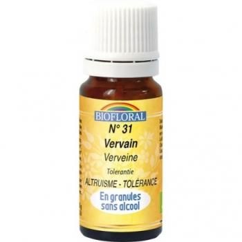 BIOFLORAL - Elixir Floral Sans Alcool en Granules – 031 VERVEINE