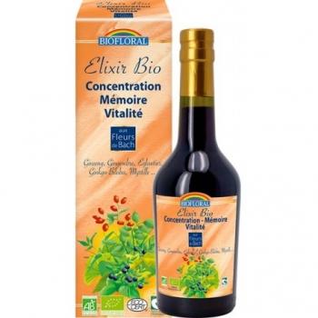 BIOFLORAL - Elixir Concentration Mémoire Vitalité