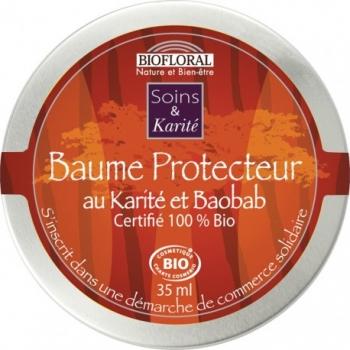 BIOFLORAL - Baume Nourrissant Baobab et Ylang Ylang BIO 35ml