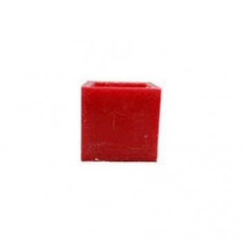 RESOLUTIVE - Bougie Tempête Carrée 10 cm x 10 cm x 10 cm