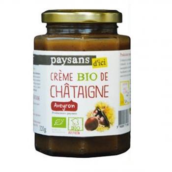 PAYSANS D'ICI - Crème de Châtaigne bio