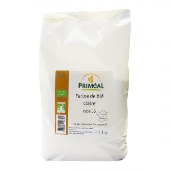 PRIMÉAL - Farine de blé claire T65 bio