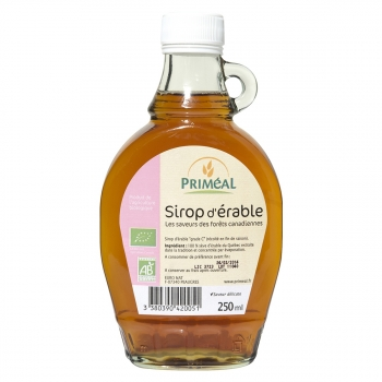 PRIMEAL - Sirop d'Érable bio 250 ml