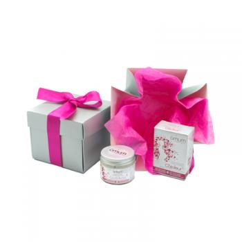 Coffret cadeau pour futures mamans - 2 soins corps omum