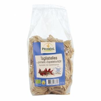 PRIMÉAL - Tagliatelles au piment d'Espelette bio