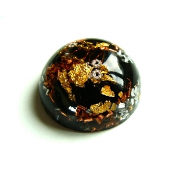 Demi Sphere Shungite