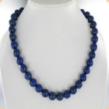 Collier perles Lapis Lazuli 1