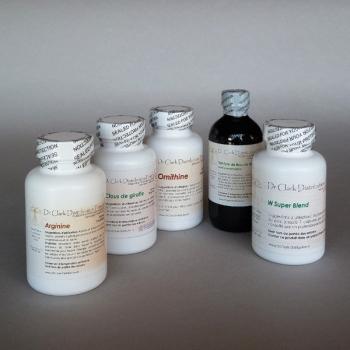 Cure Antiparasitaire du Dr Clark ( 5 produits )