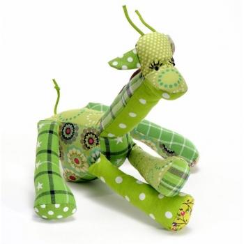 Doudou coton Annie la girafe
