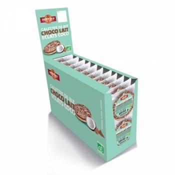 ALTER ECO - RHD Galettes de Riz  au Chocolat Lait Coco