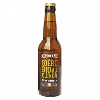 ALTPILANO - Bière au quinoa bio et sans gluten