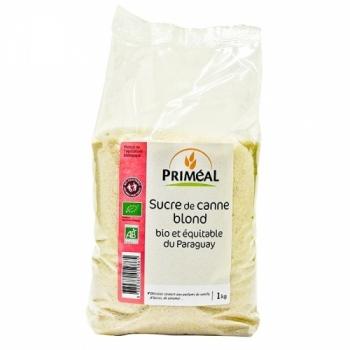 PRIMEAL - Sucre de Canne Blond 1 kg