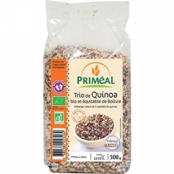 Trio de Quinoa bio & équitable