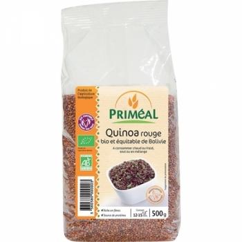 PRIMÉAL Quinoa rouge bio, vegan et sans gluten