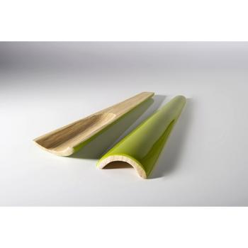 BIBOL - Grands Couverts. Bambou Laqué - TIA Olive